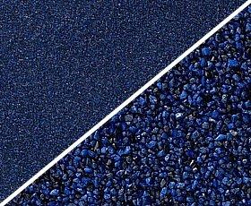 Farbkies ultramarin-blauschwarz 2-3mm 25kg