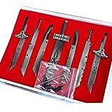 Pluscraft ファイナルファンタジーVII バスターソード クラウド・ストライフ 合体剣 7点セット 自由に組み合わせ