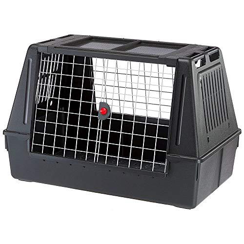 Trasportino per Cani da Auto ATLAS CAR 100 SCENIC con Agganci di Sicurezza Ottima Aerazione