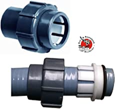 PVC 63 Spl x 63 Klemm Sibo// Aquaforte Poolschlauch Anschluss Flexfit 63 mm Flexfit Kupp