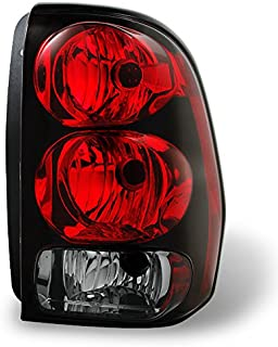 For 02-09 Chevy Trailblazer Red Clear Rear Passenger Right Side Tail Light Brake Lamp Taillamp Replacement