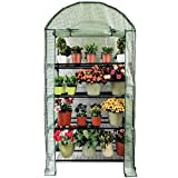 OUTOUR Longer 35x19.6x66.5in 4 Tier Wider Portable Plant Mini...