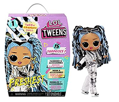 LOL Surprise Tweens Fashion Doll Freshest with 15 Surprises Including Outfit and Accessories for Fashion Toy Girls Ages 3 and Up from MGA Entertainment