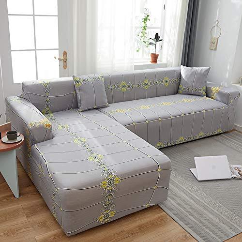 PPMP Muebles de Sala de Estar Funda de sofá de poliéster elástico Funda Protectora Funda de sofá sillón Funda de sofá A31 2 plazas