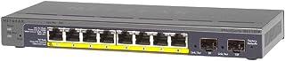 Netgear-8 منافذ Gigabit Ethernet PoE + مفتاح غير مدار - GS110TP-200EUS