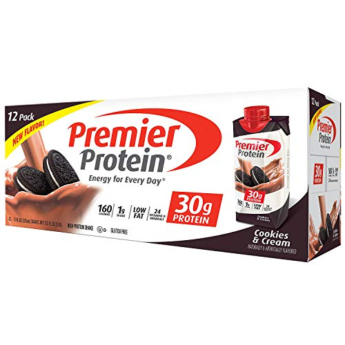 Premier Protein High-Protein Shake, Cookies & Cream (11 fl. oz, 24 pk.)