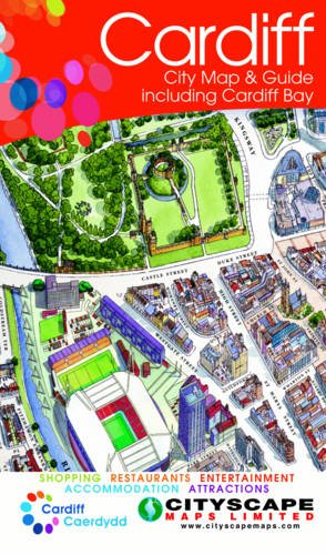 Cardiff City Map and Guide Including Cardiff Bay