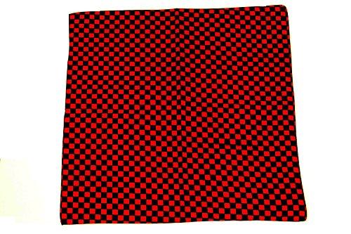 Alter Ego Zac's Foulard Bandana ® Chessboard, 100% coton - Multicolore - Taille unique