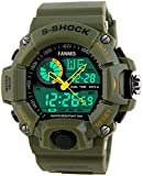 Mens Analog Digital Dual Display Sports Watches Military...