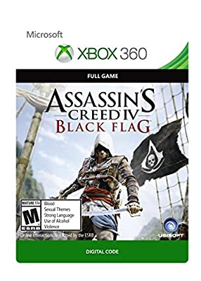 Assassin's Creed IV: Black Flag - Xbox 360 [Digital Code] from Ubisoft