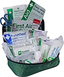 First aid kit for dogs, cats, rabbits and other household pets Compact bag can be used for pets and their owners Unlike many competitors it contains low adherant dressings, bandages and a tick remover Help minimise blood loss and prevent infection be...