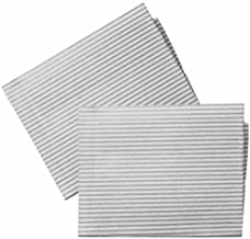 2 x UNIVERSAL Cooker Hood Filters With Grease SATURATION INDICATOR
