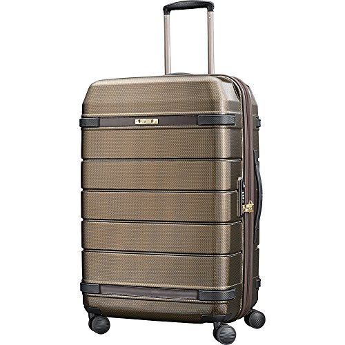 Fantastic Deal! Hartmann Checked-Medium, Bronze Monogram/Espresso, One Size