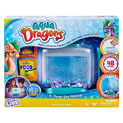Little Live Aqua Dragons: Tank & Aquatic Pets $10 + Free Shipping w/ Prime or on $25+