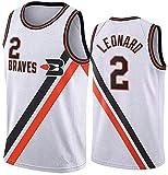 Ben Simmons 25 76ers Basketball Jersey, Jeu de Sport d'été Shorts sans Manches 4 pièces Courir Vêtements de Remise en Forme (Color : White(#2), Size : S)