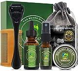 Beard Growth Kit,w/Beard...