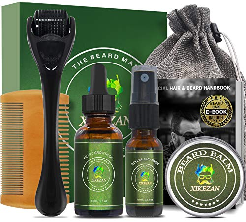 Beard Growth Kit w/Beard & Hair Relexer,Beard Growth...