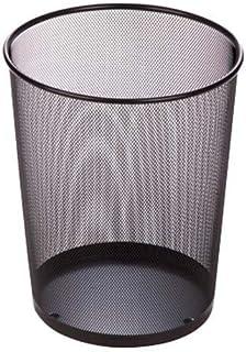 Honey Can Do Trs-02102 Stainless Steel Trash Basket, Black