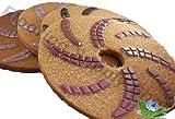 Eco Friendly Stone Polishing Pad Cheetah 20 Inch Kit of 4 Plus Monkey 11,000