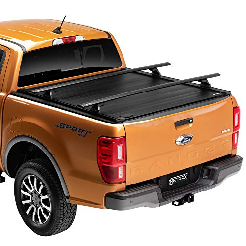 "RetraxPRO XR Retractable Truck Bed Tonneau Cover | T-80374 | Fits 2015 - 2020 Ford F-150 Super Crew, Super Cab & Reg. Cab 6' 7"" Bed (78.9"")"