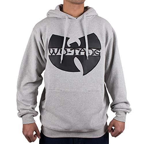 WU Wear Hoodie WU Tang App Hooded, WU Tang Clan Pull Mode Streetwear Urban, Hip Hop, pour Hommes, Gris Taille 3XL, Couleur Grey