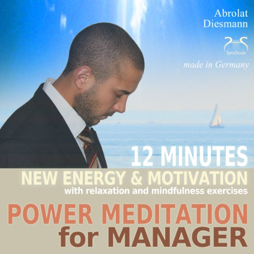 Power Meditation for Manager audiobook cover art