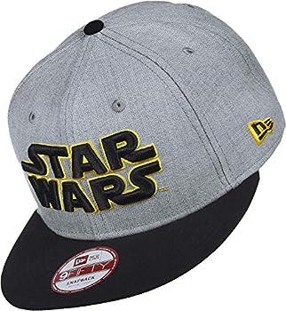 New Era Star Wars EMEA Heather Grey Snapback Cap M L 9fifty Special Limited Edition
