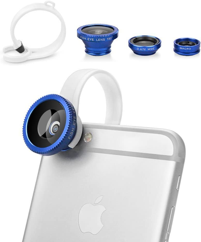 BUTEFO 3 in 1 Camera Ranking TOP9 Lens New Free Shipping Kit Lens+ Wide 0.67x Len Angle Fisheye