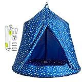 JumpTastic Hanging Tree Tent for Kids, Swing Tree Tent Hammock for Kids Toddlers Baby Used Indoor Outdoor