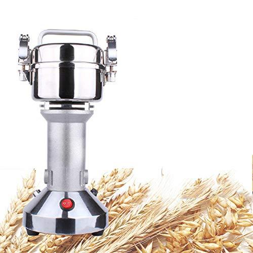 Molinillo de cereales, molinillo eléctrico para hierbas, harina en polvo, portátil, alta velocidad, 150 g