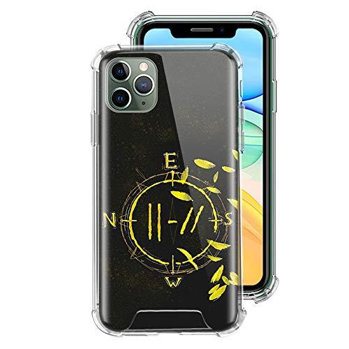 ZENGMING 21 Twenty One P Case für Apple iPhone Clear Soft Airbag Anti Handyhülle Schutzhülle A04 für iPhone 11 Hülle