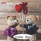 Teddy Bear Calendar 2021: official Cute Teddy Bear Calendar 2021