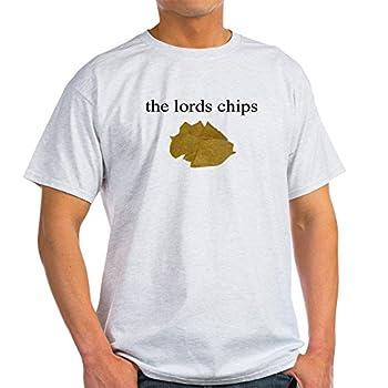CafePress Garron Stattner Chips T Shirt 100% Cotton T-Shirt Ash Grey