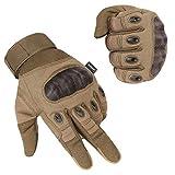 Unigear Motorrad Handschuhe Herren, Touchscreen Motorradhandschuhe mit Hard Knuckle, Leichte...