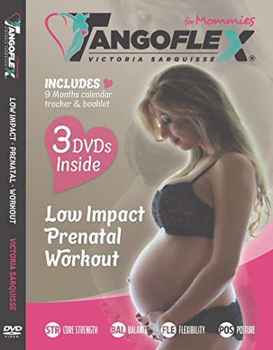 TANGOFLEX for Mommies (3-DVD Set): Low Impact Prenatal Workout