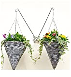 Gallity 5Pcs Rotating Double Clip Hooks, Support Up to 5 Pounds 2.8 inch Stainless Steel Hanging Heavy Duty Swivel Clips for Bird Feeders, Flower Pots, Water Bucket, Dog Leash, Pet Feed Bucket