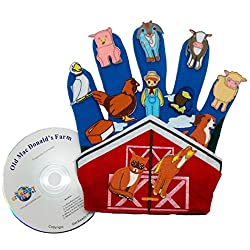 Get Ready Kids Glove Puppet Set: Old MacDonald's Farm