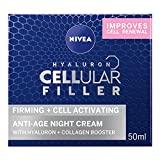 Nivea - Cellular anti - age skin rejuvenation, crema de noche anti edad, 50 ml