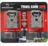 1. Stealth Cam XS16 2-Pack Game Trail Camera with SD Card Reader