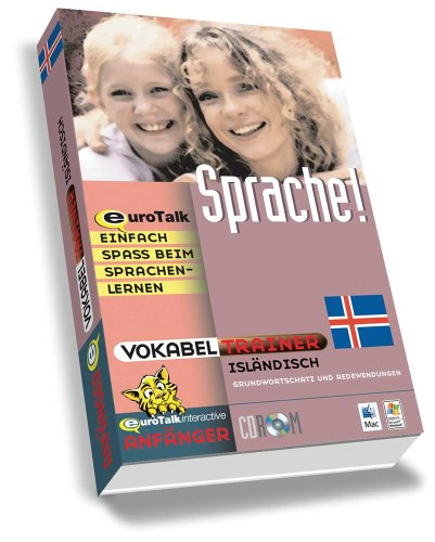 Vokabeltrainer Isländisch, 1 CD-ROM