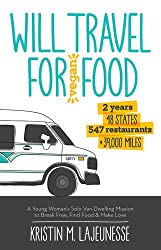 Vegan Books for Travelers: Will Travel for Vegan Food by Kristen Lajeunesse