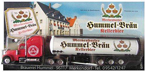 Unbekannt Hummel Bräu Nr.08 - Kellerbier - Freightliner - US Sattelzug mit Tankauflieger