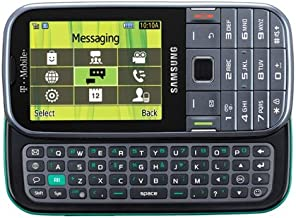 Samsung Gravity TXT T379 Unlocked GSM Phone with 3G Capabilities, 2MP Camera, Bluetooth, GPS, Number-Pad + QWERTY Keyboard, MP3/MP4 Player and microSD Slot - Gray