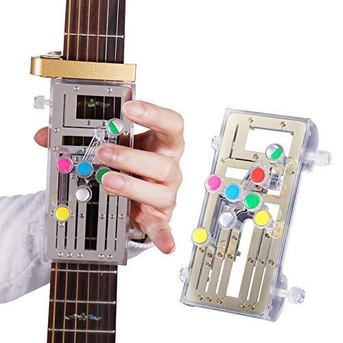 ChordBuddy Guitar Learning System für Gitarrenanfänger Drücken Sie einfach die Tasten und Spielen Sie Gitarre