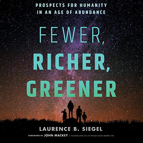 Page de couverture de Fewer, Richer, Greener
