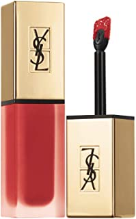 Yves Saint Laurent Tatouage Couture Liquid Matte Lip Stain 1 Rouge Tatouage for Women, 0.2 Ounce