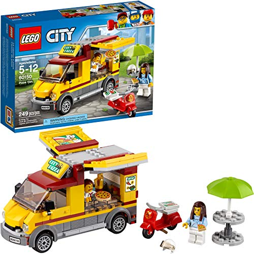 LEGO City Great Vehicles Pizza Van 60150 Construction Toy (249 Pieces)