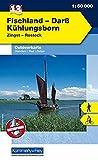 Outdoorkarte 07. Fischland - Darß 1 : 50.000: Kühlungsborn - Zingst (Kümmerly+Frey Outdoorkarten Deutschland)