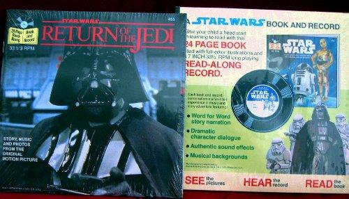 Star Wars - Return of the Jedi -( Book & 7 Inch 331/3 rpm LP Read Along Record)