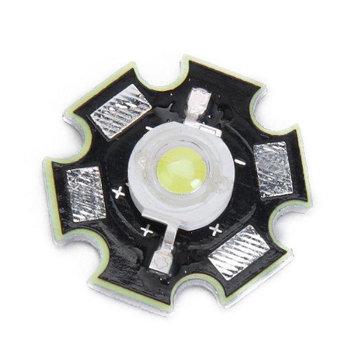 B Blesiya Led Estrella Brillante de Potencia de 3 W (Blanco)